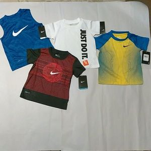 Little Boy's Nike DriFit T_Shirts Bundle, Size: 2T